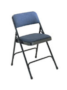 Fabric Upholstered Folding Chair Model 2200