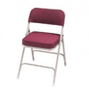Model 3200 Fabric Upholstered Folding Church Chair