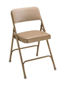 Model 1200 Vinyl Upholstered Folding Chair