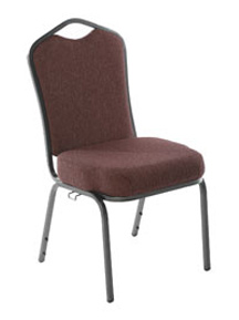 Brown Harmony church chair