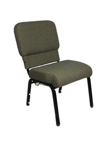 Joshua contour back chair right side view