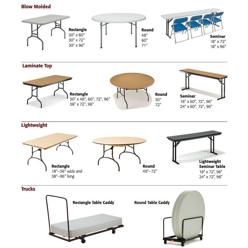 folding tables churchplaza