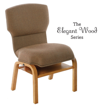 Elegant Wood Series: Majesty Church Chair