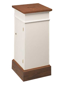 Model 80 wooden tithe box