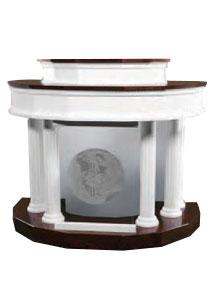 Model 8302 handcrafted custom built pulpit