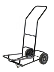 Three wheeled hand cart for chairs