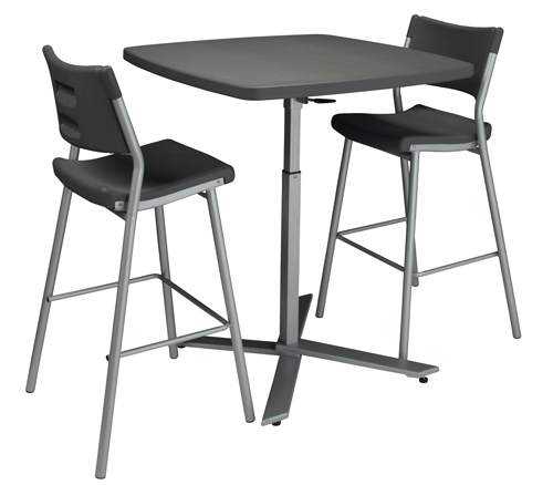 A Cafe Time Combo set with one table and two chairs