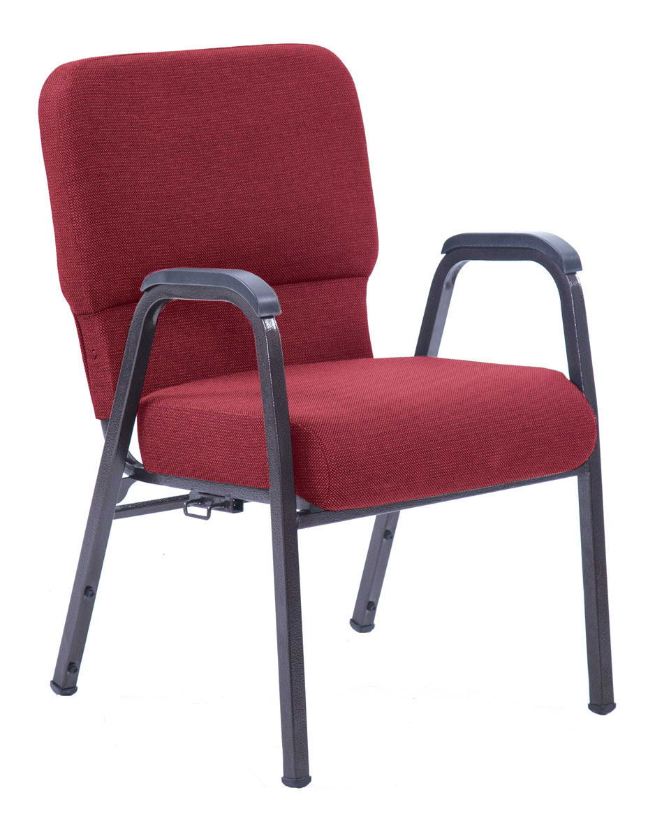 Red Joshua arm chair 20.5 inches wide