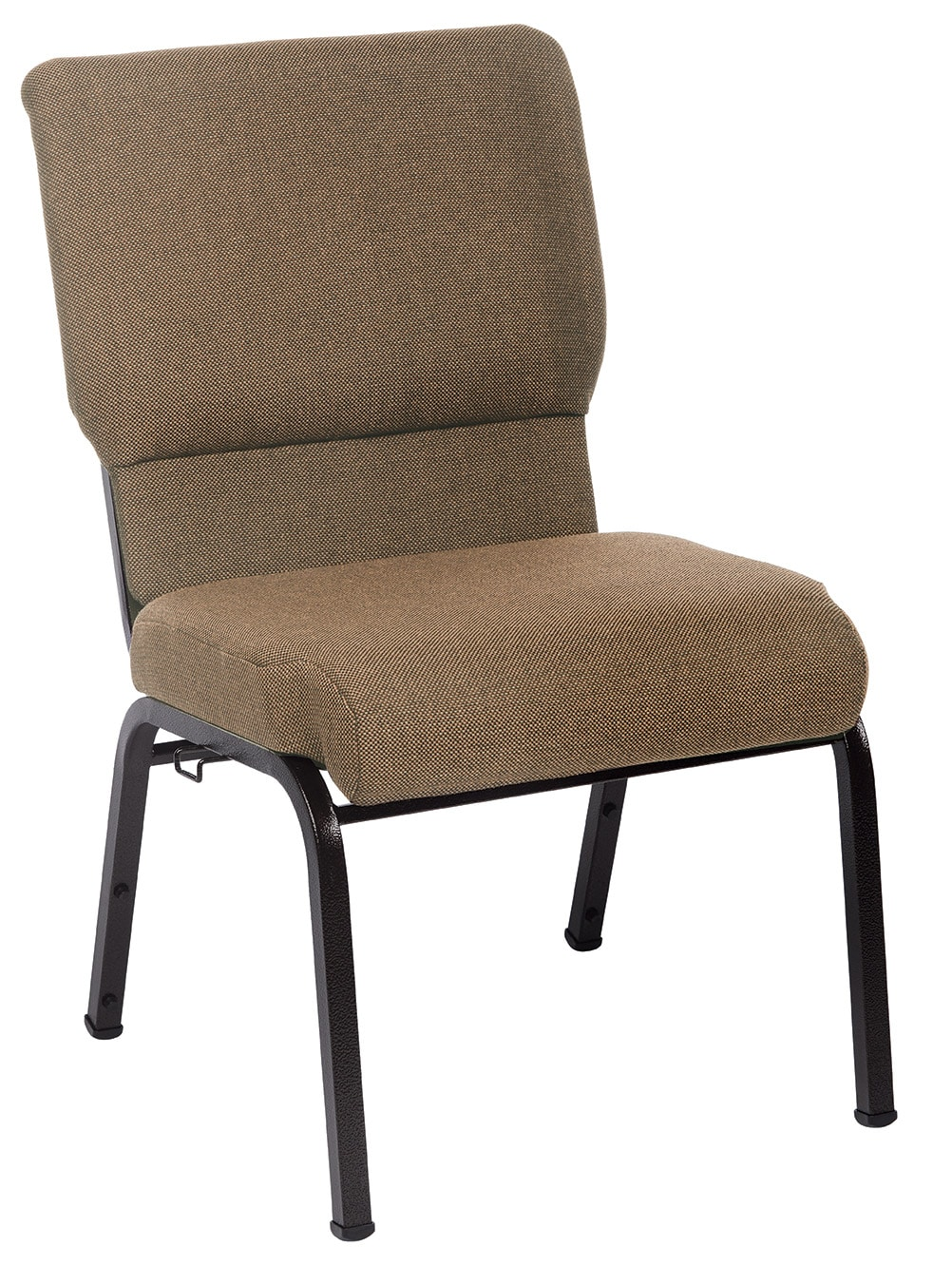 Khaki Jericho church chair 20.5 inches wide