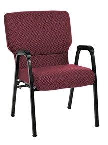 Red Jericho arm chair