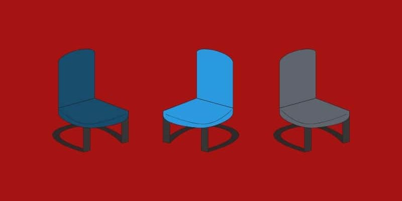 church chair illustrations