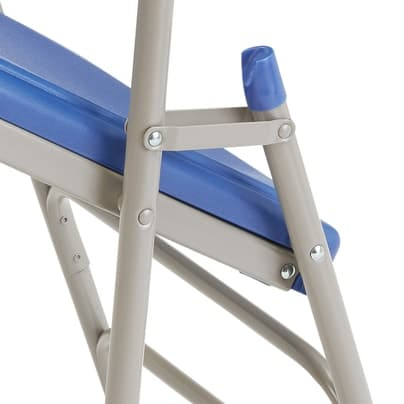 Polyfold Fanback Chair close up view