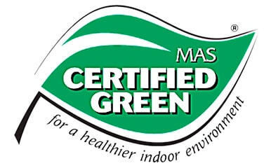 MAS Certified Green symbol